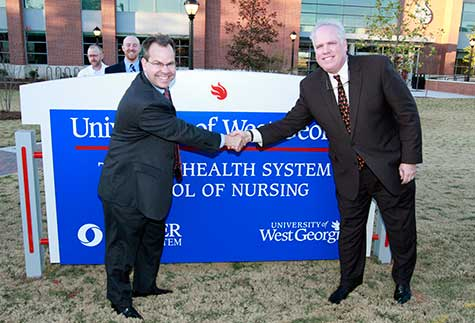 Dedication Ceremony Celebrates UWG and Tanner Partnership